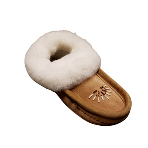 All Sheepskin Moccasin - Ladies