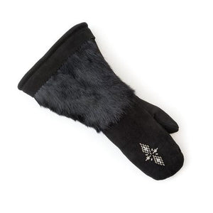 Gauntlet Mitts - Black