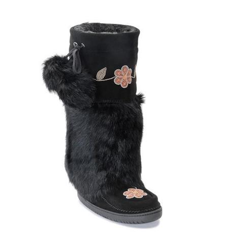 Tall Metis Mukluk - Black