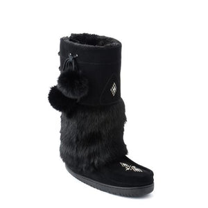 Adjustable Snowy Owl Mukluk - Black