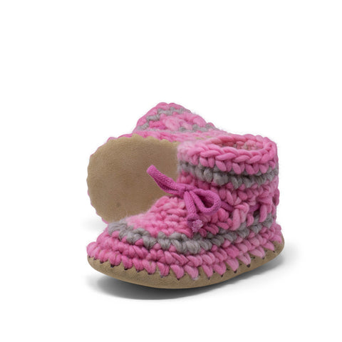 Children's Padraig Slippers - Pink