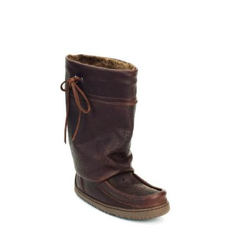 Ladies Mid Gatherer Mukluks - Cocoa