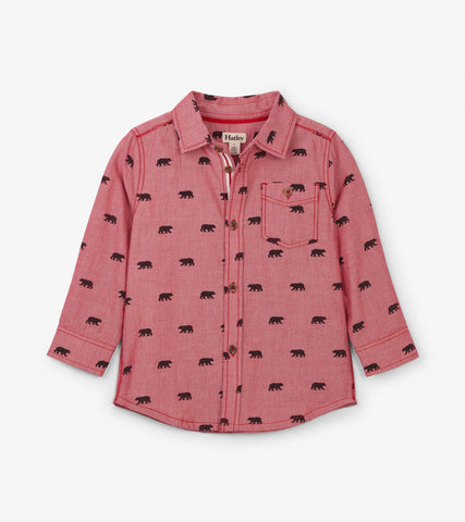 Black Bears Button-Down Shirt