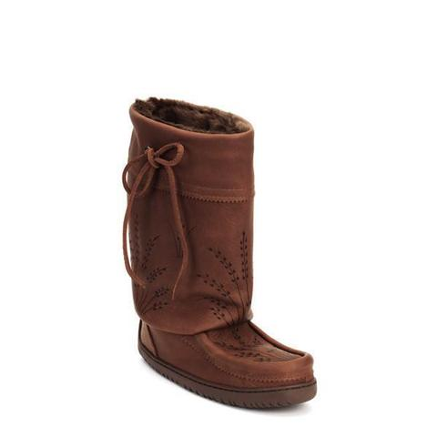 Ladies Mid Gatherer Mukluks Ladies - Tobacco