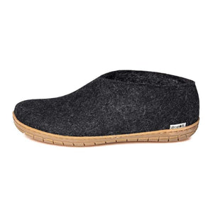 Glerups Shoe Charcoal - Rubber Sole