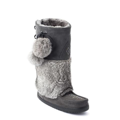 Adjustable Snowy Owl Mukluk - Charcoal