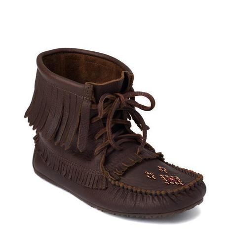 Harvester Grain Moccasin - Cocoa