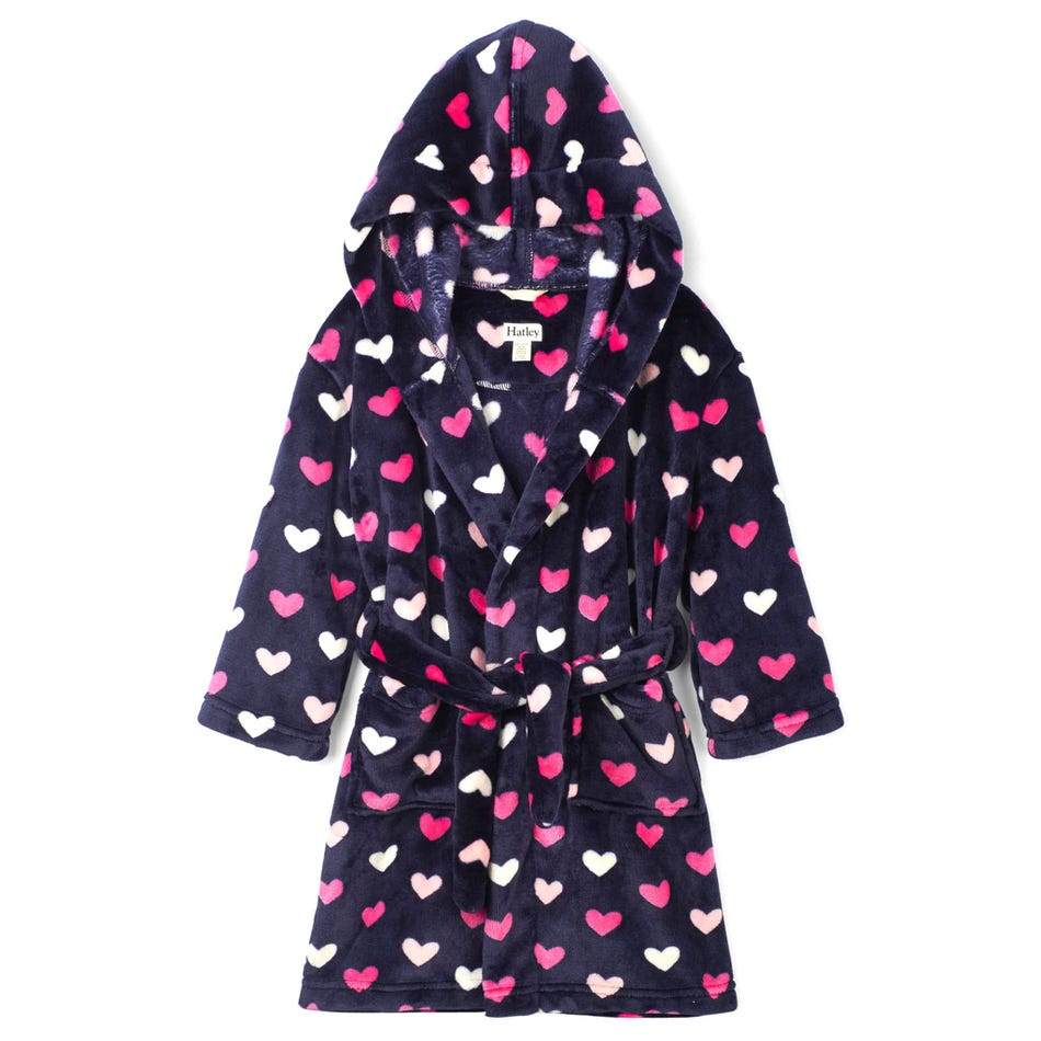 Children's Robe - Lovey Hearts