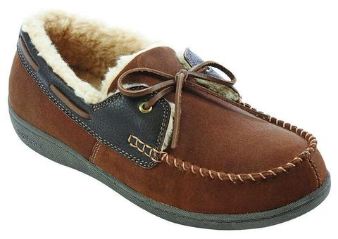 Mens Hugh Slipper - Brown