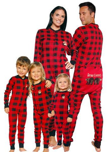 Plaid Bear Cheeks Onesies - All sizes