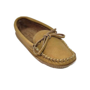 Men's Moose Hide Slippers - Cork