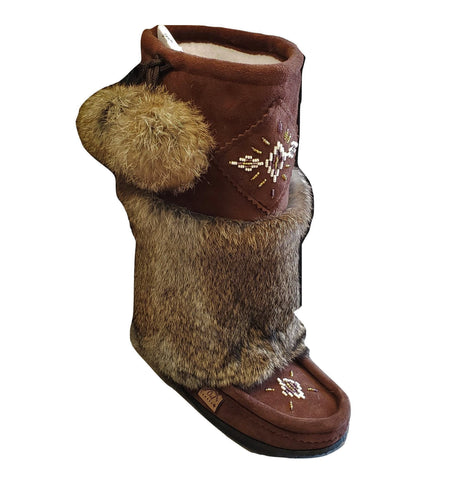 Mid Mukluks - Chocolate Brown
