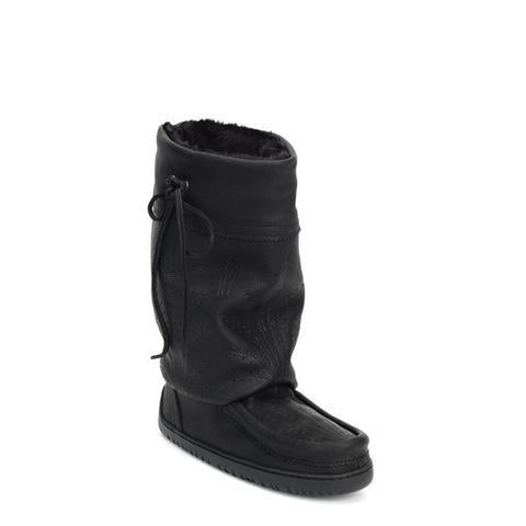 Ladies Mid Gatherer Mukluks - Black