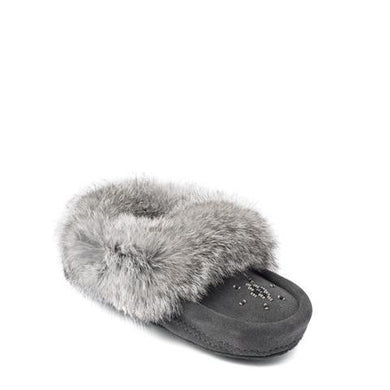 Manitobah Mukluks - Infant & Children's Moccasins Charcoal