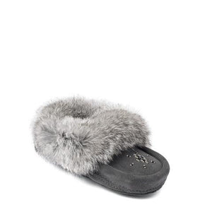 Infant & Children's Moccasins - Charcoal