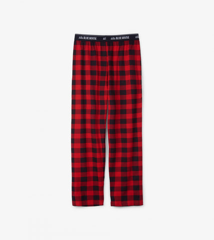 Buffalo Plaid Pyjama Pants - Men's