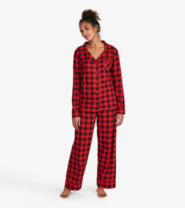 Plaid Women's 2 Piece PJ's