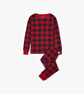 Buffalo Plaid Kids 2 Piece PJ's