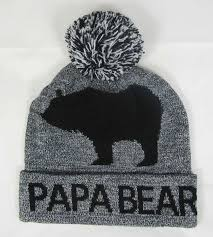 Papa Bear Toque