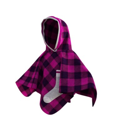 Pookie Poncho - Toddler/Youth Polar Fleece