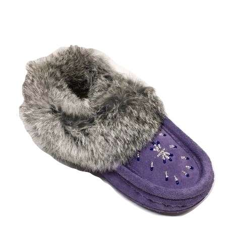 Ladies Moccasins - Purple