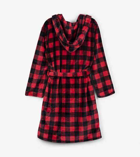 Buffalo Plaid - Adult Bathrobe