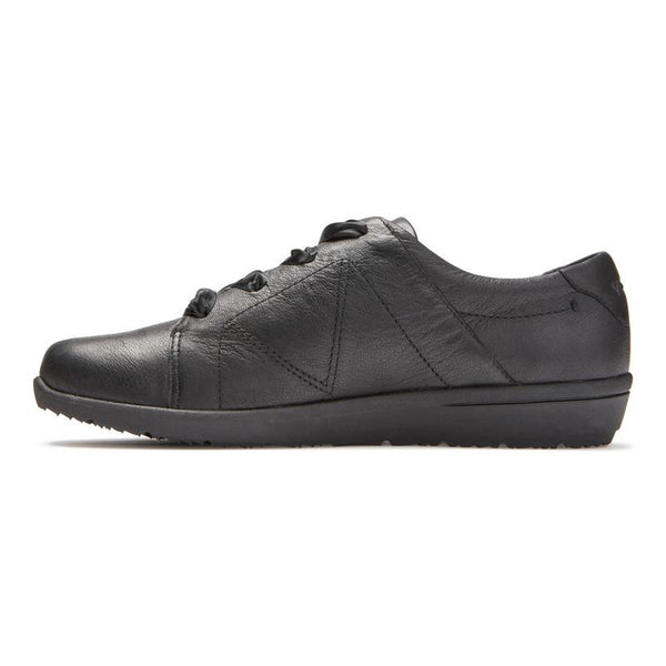 Lindsey Lace Up Shoe - Black
