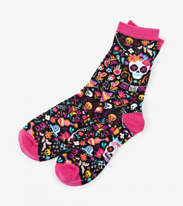 Day of the Dead Women's Crew Socks