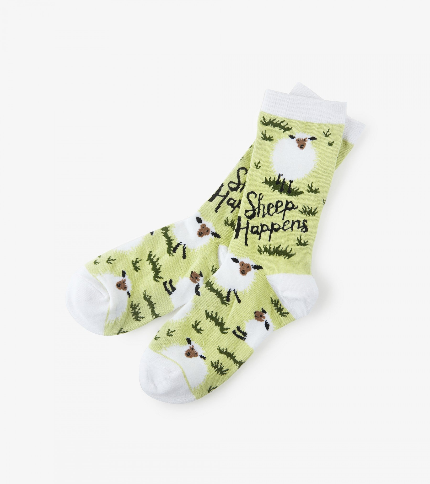 Sheep Happens Women's Crew Socks