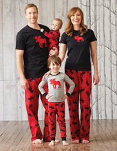 Black with Red Moose - Women's Tee