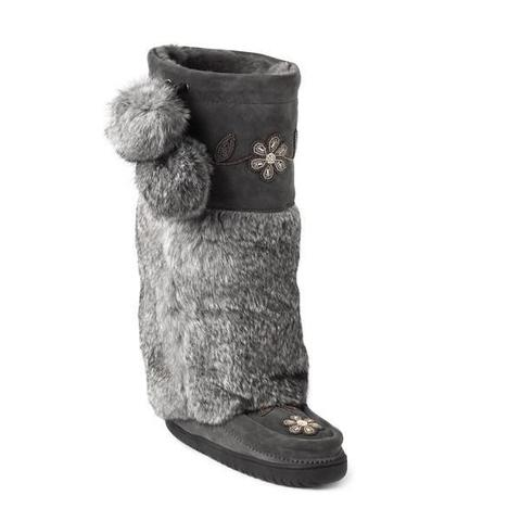 Tall Metis Mukluk - Charcoal