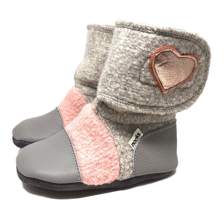 Children's Wool Booties - Tiny Dancer