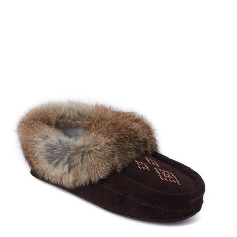 Tipi Moccasins - Dark Brown