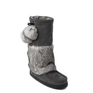 Snowy Owl Waterproof Mukluk - Charcoal