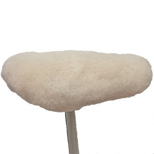 Sheepskin Bicycle Seat Cover