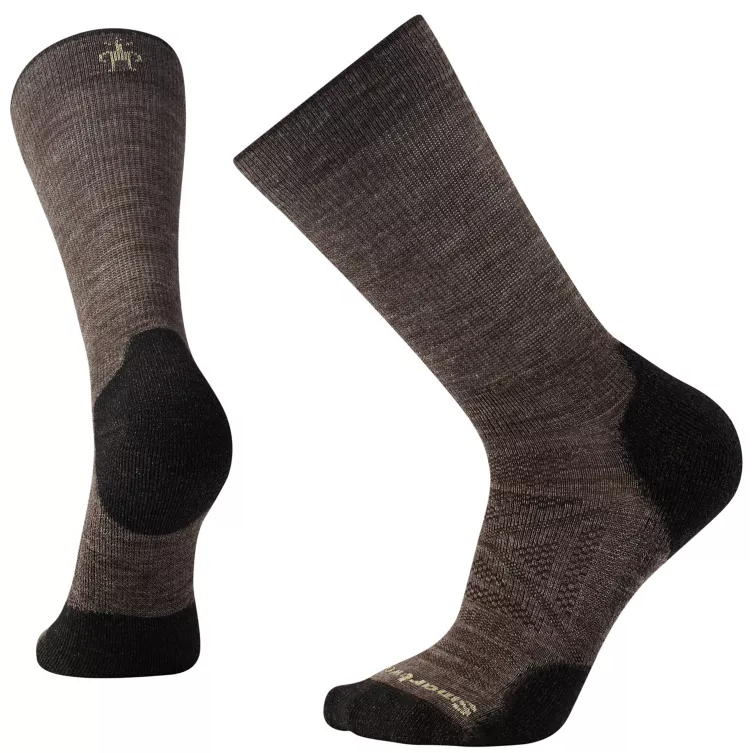 Men's PhD® Outdoor Light Hiking Crew Socks - Taupe