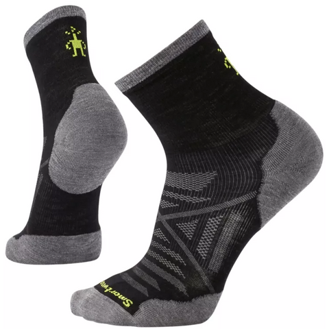 Men's PhD® Run Cold Weather Mid Crew Socks - Black