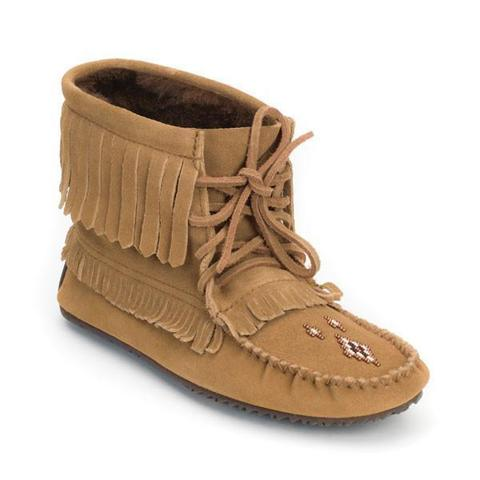 Harvester Suede Lined Moccasin - Oak