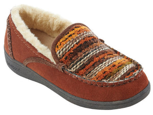 Leaf Slippers - Burnt Orange