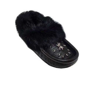 Nappa Leather Moccasins - Black