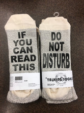 Talking socks