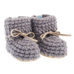 Sweater Moccs - Grey