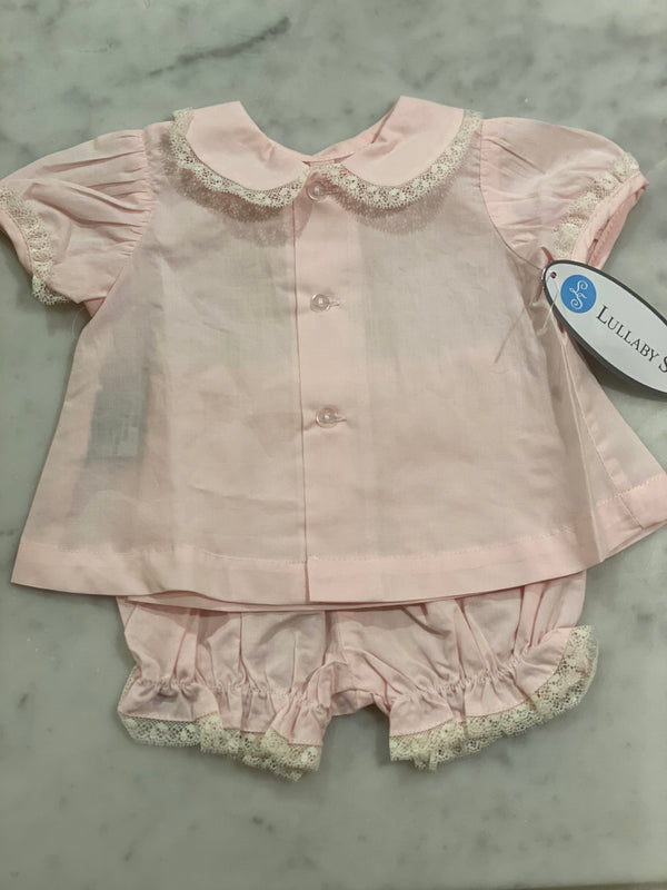 Mary Diaper Set-Pink