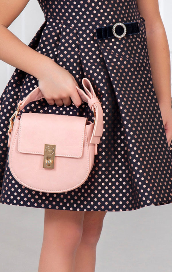 Bow handbag-Rose