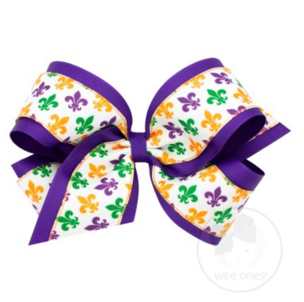 Mardi Gras Bow (Medium and King)