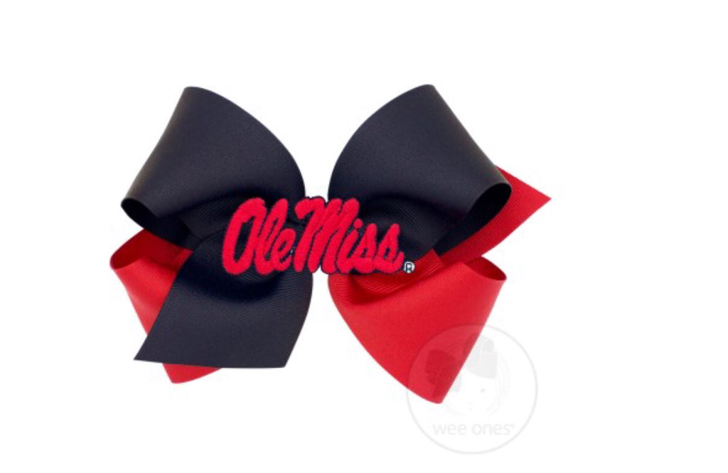 Ole Miss Bow-Medium