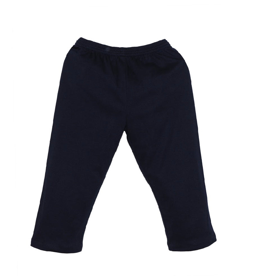 William Navy Knit Pant