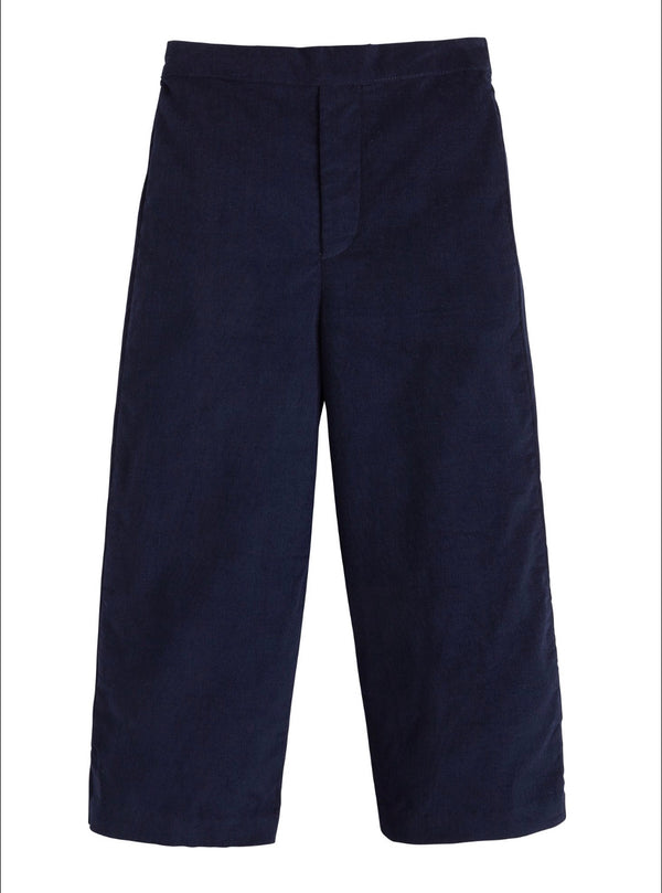 Pull on Pants-Navy Corduroy