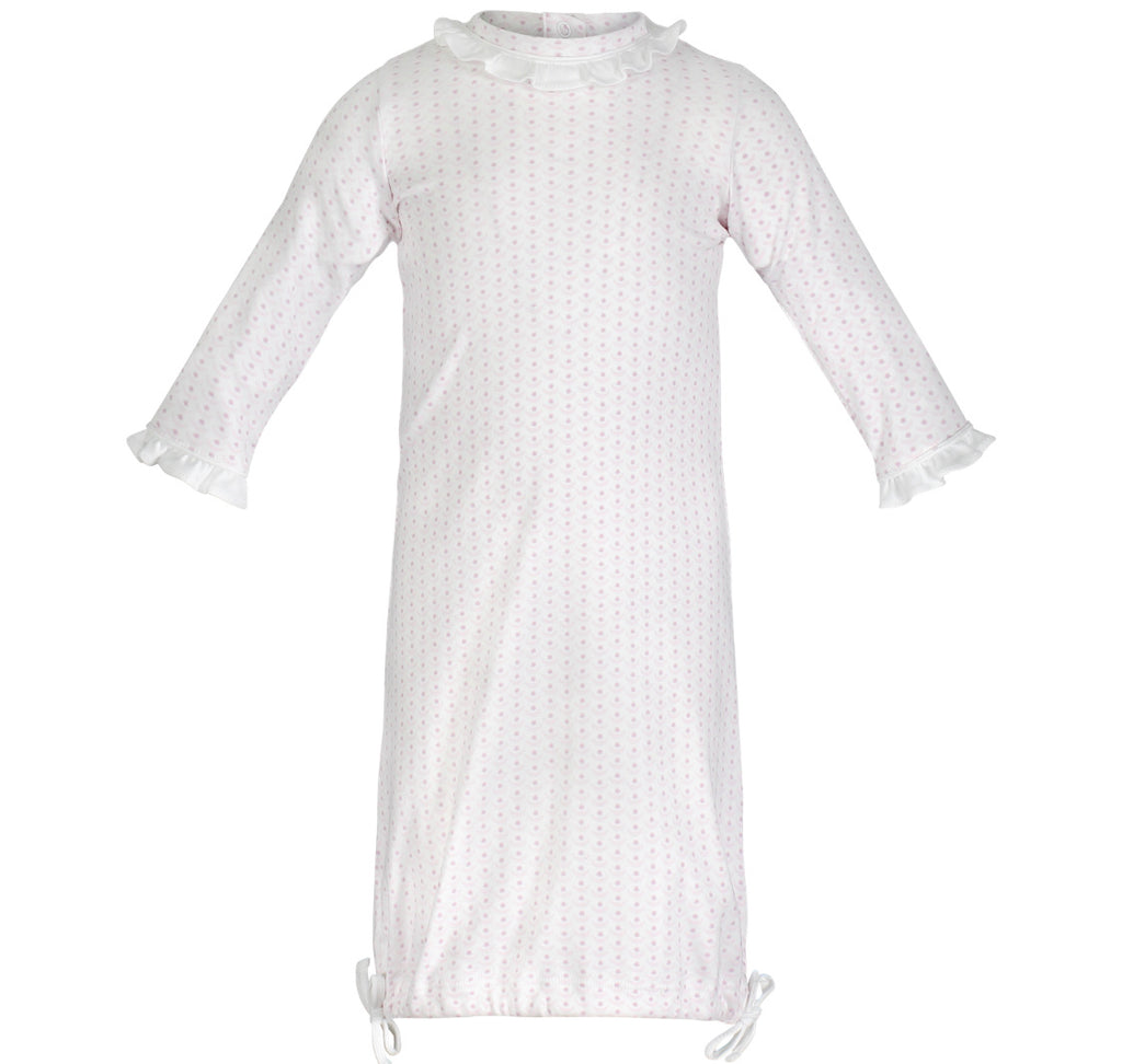 Georgia Pima Daygown-Crescent Pink