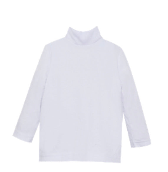 Tiny Tot Turtleneck-White